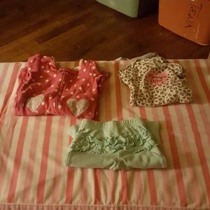 3 Pieces of Newborn Clothes